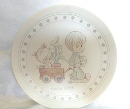 Vintage 1988 Precious Moments Easter Plate - $19.80
