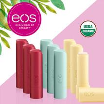 eos USDA Organic Smooth Lip Balm,9 Stick Pack / Worldwide Free Shipping - $29.39