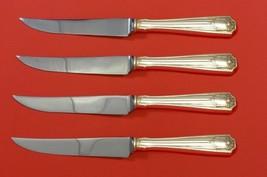 "Spotswood by Gorham Sterling Silver Steak Knife Set 4pc HHWS  Custom Made 8 1/2"" - $312.55"