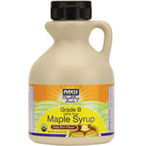Maple Syrup Organic, Grade B, 16 Oz by Now Foods - $10.70