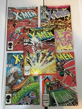 Uncanny X-Men 223 224 225 226 227 1987 Marvel Comic Book Lot VF Conditio... - $12.73