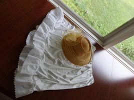 Half Slips, Slip Extenders, Slips,White Eyelet Slips, Eyelet edged skirt... - $25.95