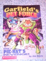 Garfield's Pet Force book 2 Pie-Rats Revenge by Jim Davis a Scholastic b... - $5.00