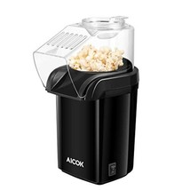 Hot Air Popcorn Popper, Aicok 1200W Popcorn Maker with Measuring Cup, Re... - $24.59