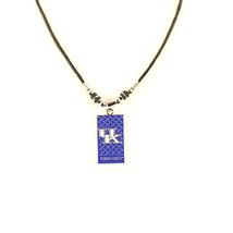 NCAA Kentucky Necklace Diamond Plate Tailgate Wildcats  Jewelry  KU Logo  - €7,51 EUR