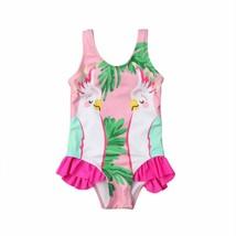 New Arrivels Toddler Kids Baby Girl Parrots Bikini Sleeveless Strap Swim... - $9.79+