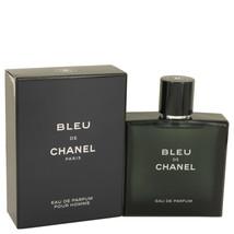 Bleu De Chanel By Chanel Eau De Parfum Spray 3.4 Oz For Men - $173.44