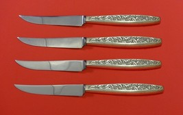 Valencia by International Sterling Silver Steak Knife Set 4pc HHWS  Custom Made - $247.10