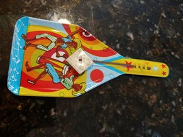Vintage Party Clacker Stars Dancing Mexican Music Metal Tin Noise Maker - $10.95