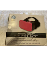 ONN Pink  Virtual Reality VR Smartphone Headset for Apple or Android - $9.40