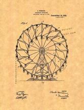 Amusement Apparatus Patent Print - $7.95+