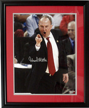 Thad Matta signed Ohio State Buckeyes Coaching 16x20 Photo Custom Framed - $94.95