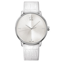 Calvin Klein K2y2x1kw Mens Silver Round Stainless Steel Watch - $236.35