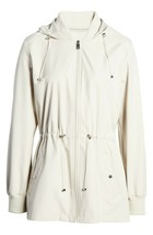 Bernardo Women's Beige Wind Proof Water Resistant Breathable Raincoat Jacket NWT