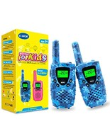 Walkies Talkies for Kids, 22 Channels FRS/GMRS UHF Two Way Radios 4 Mile... - $25.94