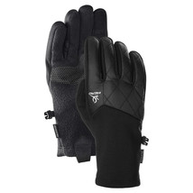 Head Womens Black Hybrid Sensatec Touchscreen Running Gloves Size Small NWT