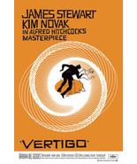 Alfred Hitchcock's Vertigo 24 x 36 inch Movie Poster - James Stewart - $18.00