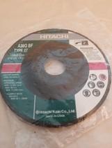 "Hitachi Grinding Wheel A36Q BF Type 27 (4-1/2""x 1/4""x 7/8"") image 1"