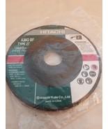 """Hitachi Grinding Wheel A36Q BF Type 27 (4-1/2""""x 1/4""""x 7/8"""") - $6.88"""