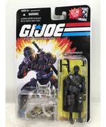 G.I. JOE Commando Snake Eyes & Timber Wolf (Comic Logo) - Hasbro 2008 FS - $29.02