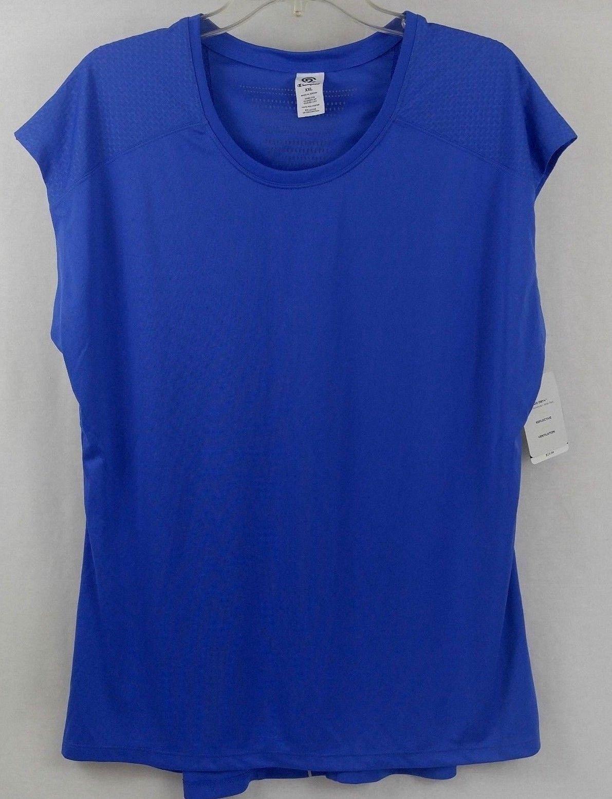 5be9bfc28 C9 Champion Women s Mesh Run T-shirt Steel and 50 similar items. 57