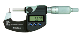 Mitutoyo 395-261-30 Digital Tube Micrometer, Type A 0-25mm - $399.99