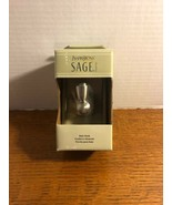 Inspirations by Moen Sage Collection Single Robe Hook Brushed Nickel NIB - $9.49