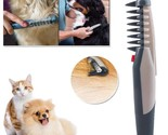 1pcs Electric Pet Dog Grooming Comb Cat Hair Trimmer Knot Out Remove Mats Tangle