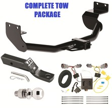 TRAILER HITCH + WIRING KIT + BALLMOUNT + BALL FITS 2013 HYUNDAI SANTA FE... - $240.09