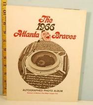 The 1966 Atlanta Braves Autographed Photo Album 1st Major League Year RA... - $64.35