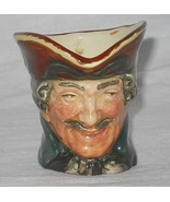 Vtg Royal Doulton Dick Turpin Mini Character Toby Jug Mug D6128 Hand Num... - $24.95