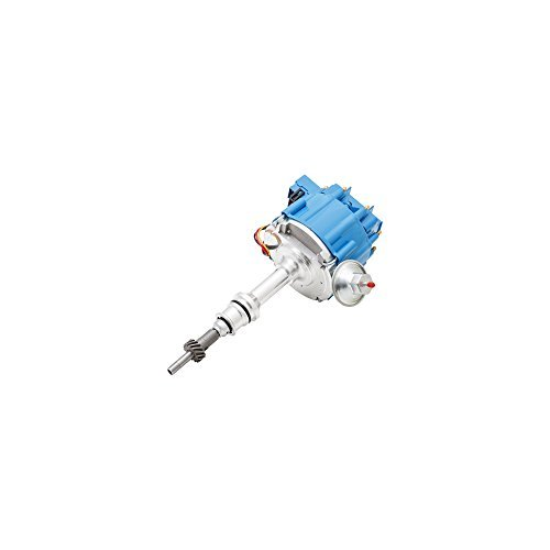 Top Street Performance JM6502-5BL HEI Distributor with Blue Cap