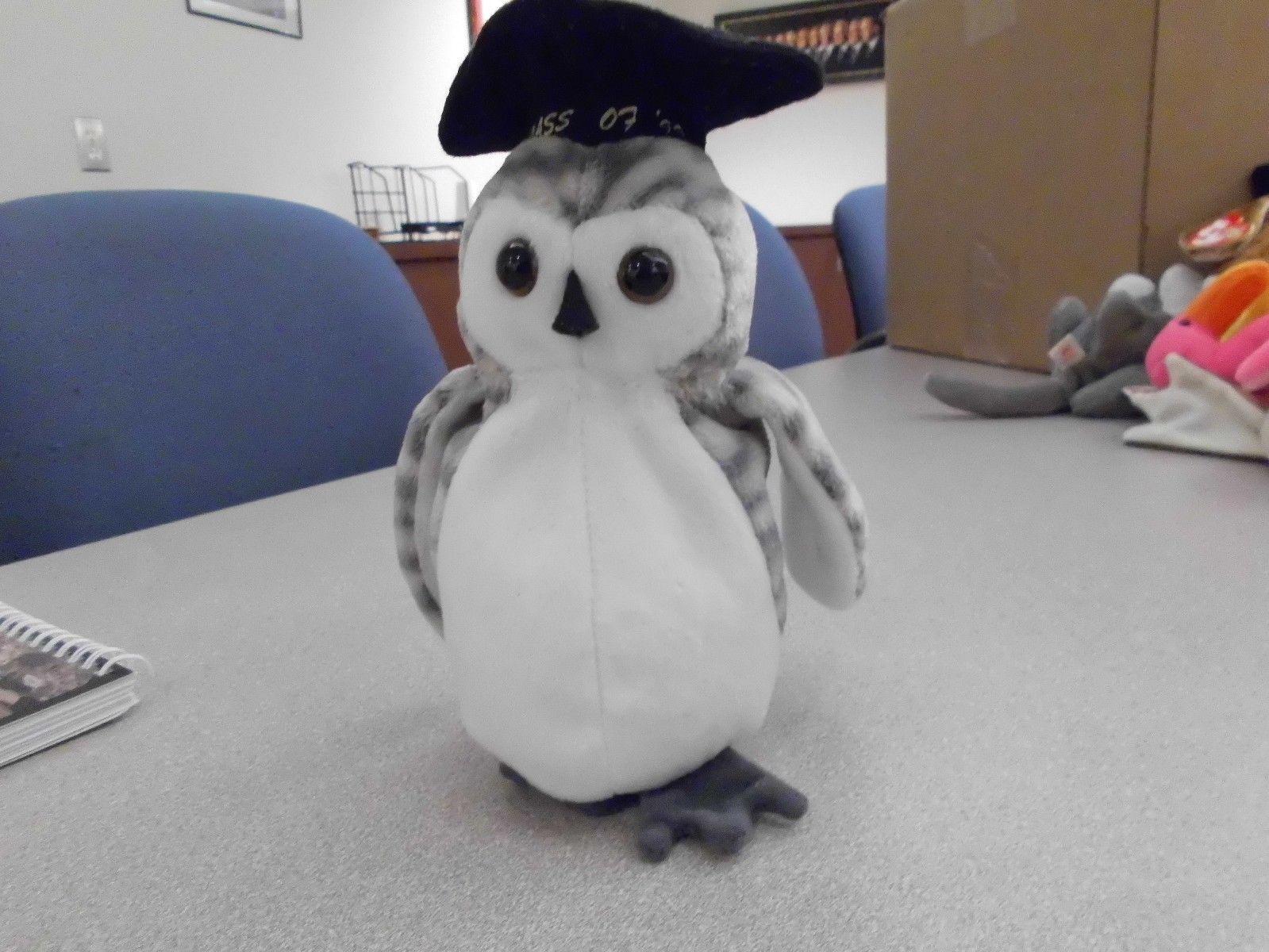 Ty Beanie Babies Wiser the Owl no swingtag
