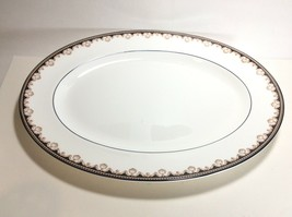 "Wedgwood Medici Oval Serving Platter 15 1/2"" R4588  - $39.58"
