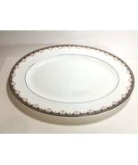 """Wedgwood Medici Oval Serving Platter 15 1/2"""" R4588  - $39.58"""