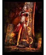 Haunted Ritual Direct Binding Fire Elf Energy Fire Manipulation Rune Mag... - $310.00