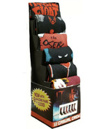 Pennywise It Chapter 2 Casual Novelty Crew Socks Set of 6 NEW Stephen Ki... - $19.99