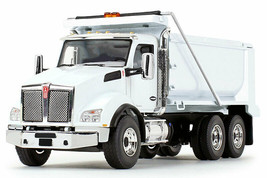 White Kenworth Dump Truck First Gear 50-3471 1/50 Scale - $89.05