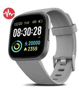 FITVII Health & Fitness Smart Watch with Blood Pressure Heart Rate Monit... - $76.96