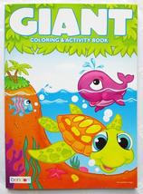 Animals Jumbo Coloring & Activity Book NEW Bendon Tear and Share Pages - $2.99