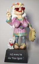 Biddys Figurine 2005 Free Spirit #12812 Westland hippee flower child BF7 - $21.77