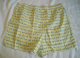 New with Tags Gap Boxer Shorts XL Yellow Fish 100% cotton - $11.54