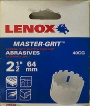 Lenox 29940 40CG 2-1/2  Carbide Grit Hole Saw (64mm) - $27.72