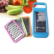 Adjustable Vegetable Slicer Fruit Dicer Grater Set Steel Stainless Chopp... - €12,15 EUR