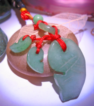 Haunted Jade Charm 3x Asian Luck Prosperity Carp Tassel Magick Witch Cassia4 - $33.00