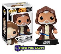 Funko Pop! Star Wars Obi-Wan Kenobi Vinyl Figure NEW #10 - $111.27