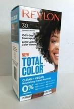 Revlon Total Color Hair Dye 30 Darkest Brown 100% Grey Coverage PERMANENT VEGAN - $6.92
