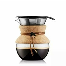 Bodum Pour Over Coffee Maker 17 OZ .5 Liter Cork Band Kitchen - $18.80