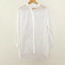 CAbi Love Carol M Medium Vacation Shirt Button Up Long Sleeve Shirt Whit... - $24.97