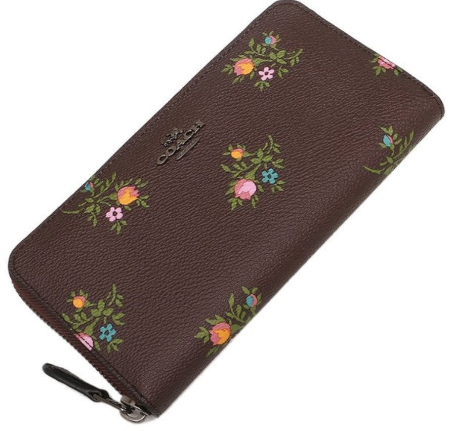 5f46abf4 COACH 22877 Cross Stitch Floral Accordion and 50 similar items